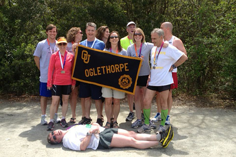 Oglethorpe Runners at Palmetto 200