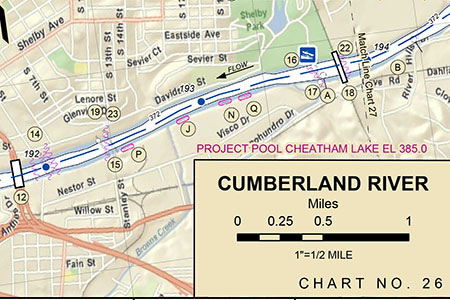 Cumberland River - browns Creek -updated chart