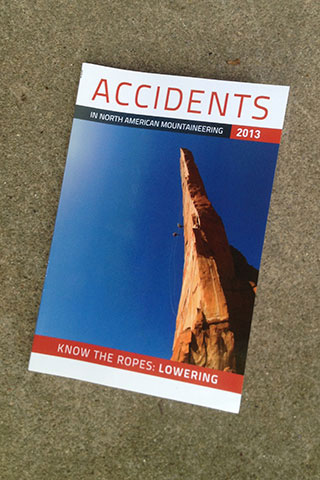 Book Cover of Accidents in North American Mountaineering