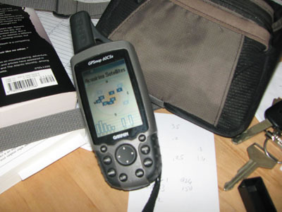 gps on desk