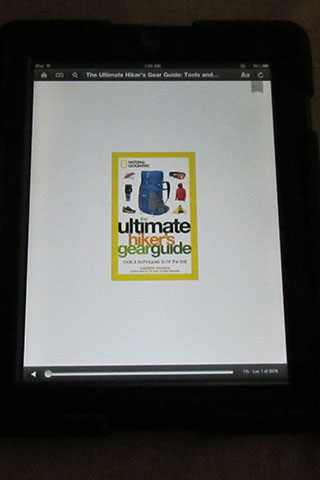 Ultimate Hiker's Gear Guide - book cover