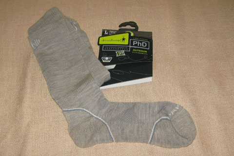 SmartWool PhD Light Crew Socks