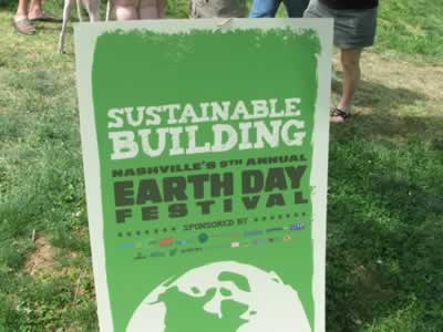 earth day sign