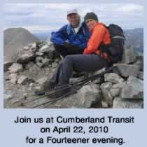 we are going to talk at Cumberland transit about our summer trip to Colorado