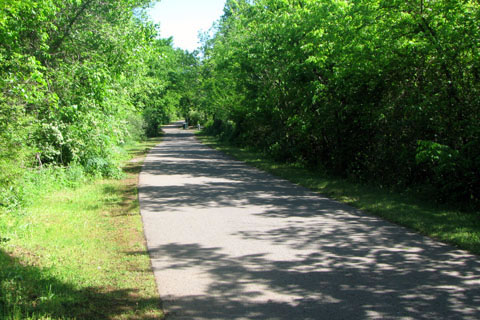 Stones River Greenway path