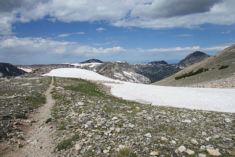 trail Across Paintbrush Divide