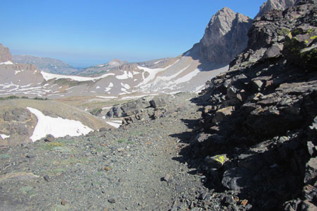 Alaska Basin from Stactic Pass