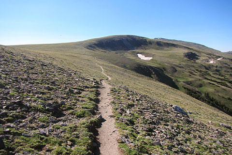 alpine Tundra leading to Ida