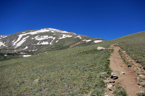 Mount Elbert's East Ridge