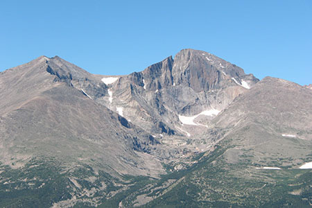 Longs Peak from Twin Sisters