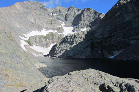 Mount Ypsilon from Spectacle Lake