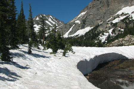 Pear Lake outlet