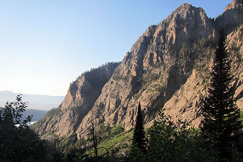 Prospectors Mountain in Death Canyon