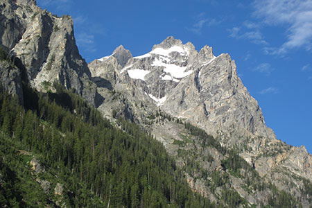 Views of the Cathedral Group from Cascade Canyon