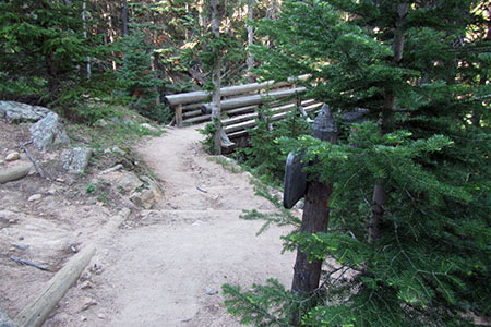 a bridge over the Storm Pass Trail