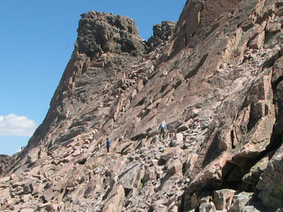 the Ledges of Longs Peak