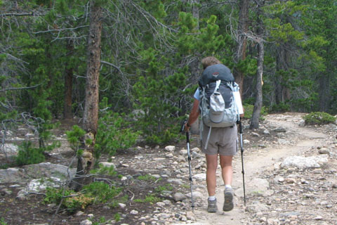Backpacking in Rocky Mountain National Park