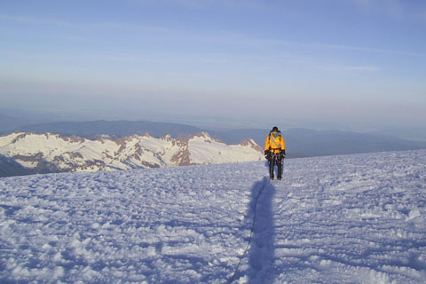 Near the Summit of Mount Baker