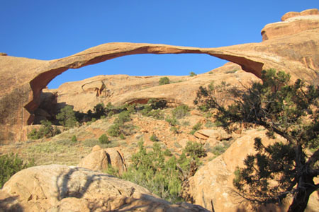 landscape Arch from the trail