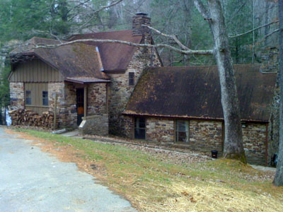 Mill House, Cumberland Mountain State Park
