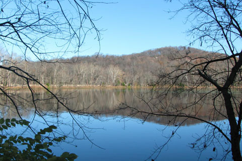 Radnor Lake from Otter Creek Rd