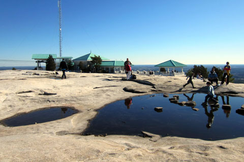Summit of Stone Mountain