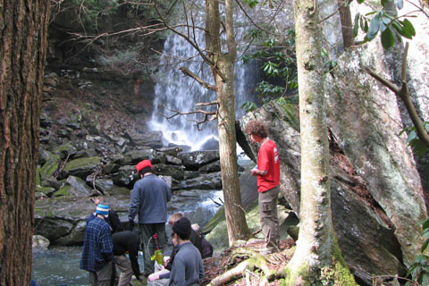 group below Suter Falls