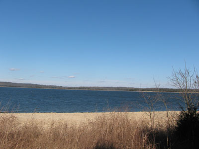 Percy Priest Lake from Volunteer Trail, Long Hunter State Park